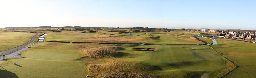 Golfresa till Carnoustie resort Scotland